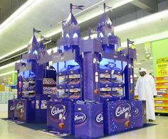 Marketing Activation & Brand Building by Rony Kastoun, via Behance Shop Display Stands, Pos Display, Display Design, Booth Design, Market Displays, Merchandising Displays, Store Displays, Pos Design, Retail Design