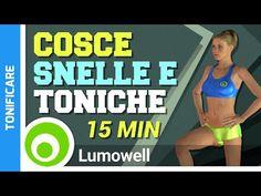 Gambe Snelle E Toniche - Esercizi Per Dimagrire E Tonificare Le Cosce - YouTube