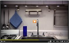How to light a kitchen: under cabinet lighting