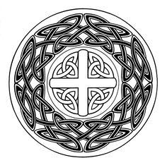 *El rincón de las Manualidades de Siry*: Mandalas para colorear Stencils, Celtic Art, Celtic Designs, Colouring Pages, Shadow Box, Blackwork, Zentangle, Illusions, Irish