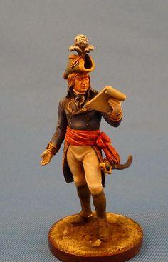 Французский генерал Десэ де Вейгу - 1798-1800  ММС