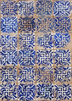 Detail In Abakh Hoja Tomb, Burial Place Of Muhatum Ajam  Kashgar, Xinjiang, China