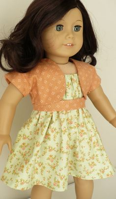 American Girl 18 inch doll clothes two piece outfit by WhoaItsMe, $14.00