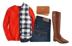 """""""Fall!"""" by sc-prep-girl on Polyvore featuring J.Crew, Tory Burch and Abercrombie & Fitch"""