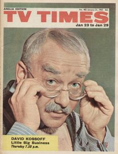 23rd January 1965 Time Magazine, Magazine Covers, Tv Times, Vintage Tv, Old Pictures, Britain, Magazines, 1960s, Nostalgia