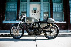 Two Wheeled Delicacy - NOX CB750 Cafe Racer ~ Return of the Cafe Racers