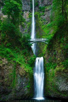 Multnomah Falls by Christian Hoiberg on 500px