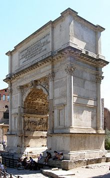 Arch of Titus - Wikipedia, the free encyclopedia
