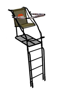 Millennium Treestands L110 21 ft Single Ladder Stand with Folding Seat Includes SafeLink Safety Line *** Find out more about the great product at the image link.