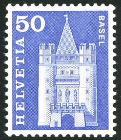 Basel by Albert-Edgar Yersin 1905 - 1984.