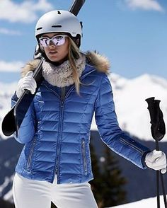 kelly-dp jacket with fur - ski parkas - women - Gorsuch Snow Fashion, Winter Fashion, Apres Ski Outfits, Givenchy, Snowboarding Outfit, Ski Wear, Vogue, Jackets For Women, Clothes For Women