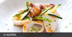 Te mostramos una receta de sepia a la plancha con ajo y perejil donde incluimos todos los trucos para que te quede tierna y jugosa, como en los bares que la preparan bien. Calamari Recipes, Food Categories, Barbecue, Shrimp, Carrots, Chicken, Vegetables, Mamma, Blog