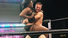 Arianna vs Kyle Schillinger at Ring Divas... love this pic.