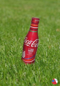 This Rio Olympics 2016 Aluminium Coca-Cola Bottle was issued in the US for the month of August. More Olympic memorabilia at http://www.2collectcola.com/cocacola/olympic.html