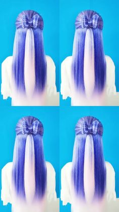 Kawaii Hairstyles, Easy Hairstyles For Long Hair, Braids For Long Hair, Pretty Hairstyles, Black Hair Video, Long Hair Video, Hair Tips Video, Hair Videos, Hair Up Styles