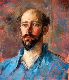 Augustus John, Portrait of Richard Hughes, 1937