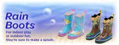 08/24/13 Kidorable Rain Boots – Giveaway & SAVE 20% For #BackToSchool