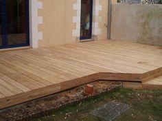 11 best terrasse teck images on pinterest decks house porch and wooden decks. Black Bedroom Furniture Sets. Home Design Ideas