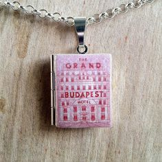 Wes Anderson - The Grand Budapest Hotel - Literary Locket