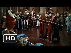 The Ten Commandments Movie Clip - watch all clips http://j.mp/yfv07P click to subscribe http://j.mp/sNDUs5  Moses (Charlton Heston) goes to the court of the Pharaoh (Yul Brynner) demanding he let his people go. Moses turns his sceptre into a serpent, which swallows the serpents of the Pharaoh.  TM & © Paramount (2012) Cast: Yul Brynner, Charlton...