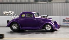 Willys coupe | Easter Thunderball - Santa Pod | Photo Crazy Rob | Flickr