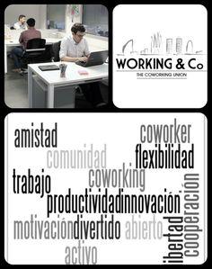 ¿Qué es el #Coworking? ¡Ven a conocernos y descúbrelo! www.workingandcompany.com  #trabajo #empleo #freelance #micropyme #pyme #autonomo #emprendedor #barcelona