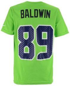 Nike Doug Baldwin Seattle Seahawks Pride Name and Number T-Shirt, Big Boys (8-20) - Green XL