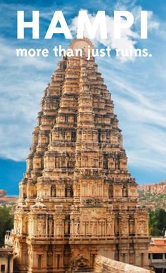 I must tell you that I am not a traveller. I haven't been tomany spectacular places. I recently started travelling andthe firstplace I fell in love what this beautiful town called Hampi.