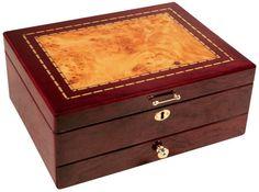 Salem Jewelry Box-Closed. Available at JewelryBoxPlus.com