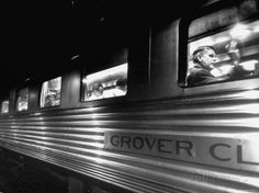 Passengers Riding in Lounge Car of Train Premium Photographic Print by Alfred Eisenstaedt at AllPosters.com