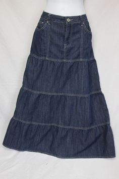 long western denim skirt, like it much | BVW COUTURE drawing board ...