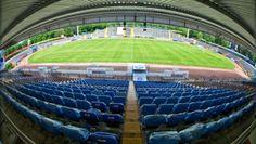 Böllenfalltor - Das marode Stadion des Aufsteigers in die 2. Fussball-Bundesliga Darmstadt 98.