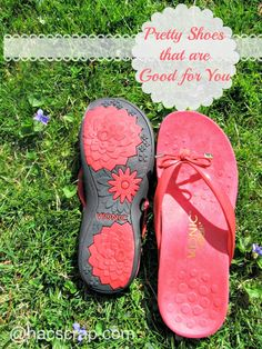 My Scraps | Vionic Orthoheel Technology - my current favorite pair of summer shoes! #SoleStory