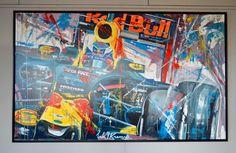 groot origineel schilderij nederlandse topkunstenaar Eric Jan Kremer