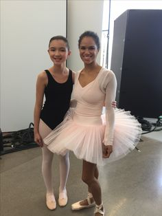 Me with Misty Copeland earlier this year!