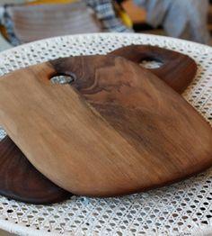 """Walnut Cutting Board (15.25"""" x 11""""), Handmade in LA / Alder & Co"""