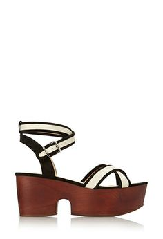 Chunky Canvas Sandals | FOREVER 21 - 2000124303