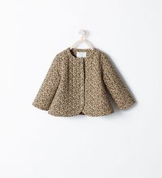 LEOPARD PRINT JACKET from Zara Baby Girl AW 14