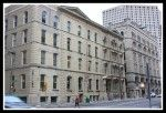 Milwaukee: The Milwaukee Bank Building, home of Milwaukee's Grand Avenue Club, incorporates the oldest commercial building in the city. #Milwaukee #history