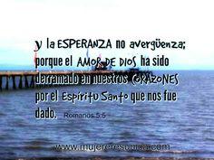 La esperanza no avergüenza www.mujereresunica.com