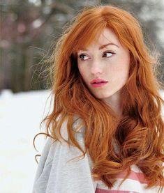09f9bfa4 Ukrainian redhead Alina Kovalenko #Darkskin Cabello Rojiso, Como Rizar El  Cabello, Cabello Largo