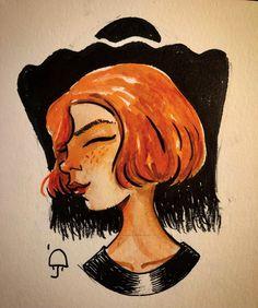 Drops and bits (@dropsandbits) posted on Instagram • Oct 24, 2020 at 11:05pm UTC Moleskine, Inktober, Disney Characters, Fictional Characters, Sketches, Drop, Watercolor, Comics, Disney Princess
