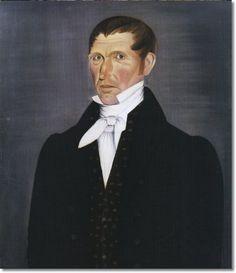 Sheldon Peck - Portrait Of A Gentleman 1825 16x20