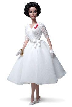 Elizabeth Taylor White Diamonds Doll | Barbie Collector