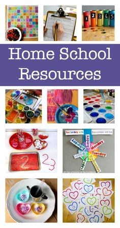 100s of free homeschool resources and printables :: home education resources
