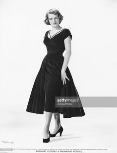 Dress as she appears in the movie white christmas circa 1954