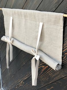 Linen Curtains Country Kitchen Tie Up Valance Rustic Window Treatment French Country Farmhouse Living Room Farmhouse Curtain Blind Rustic Window Treatments, Window Treatments Living Room, Window Coverings, Farmhouse Curtains, Kitchen Curtains, Rustic Curtains, Kitchen Blinds Diy, Farmhouse Windows, Linen Curtains