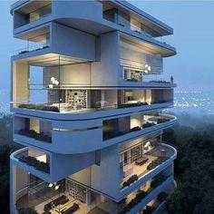 Köln Rhodenkirchen Luxury Residence Building 1. Preis by Hadi Teherani #germany…