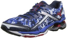 Mizuno Mens Wave Creation 15 Running ShoeOlympian BlueChinese Red14 D US -- Learn more by visiting the image link.(This is an Amazon affiliate link and I receive a commission for the sales)