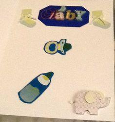 inside the Baby Boy card